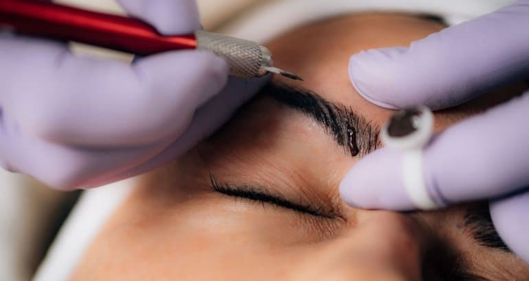 Eyebrow Micro Blading