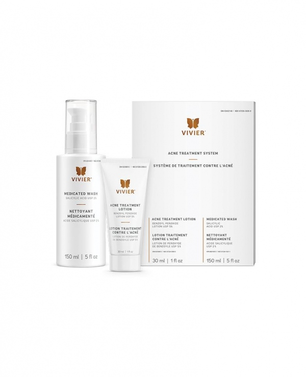 Vivier Acne Treatment System Medical Cosmetics Windsor